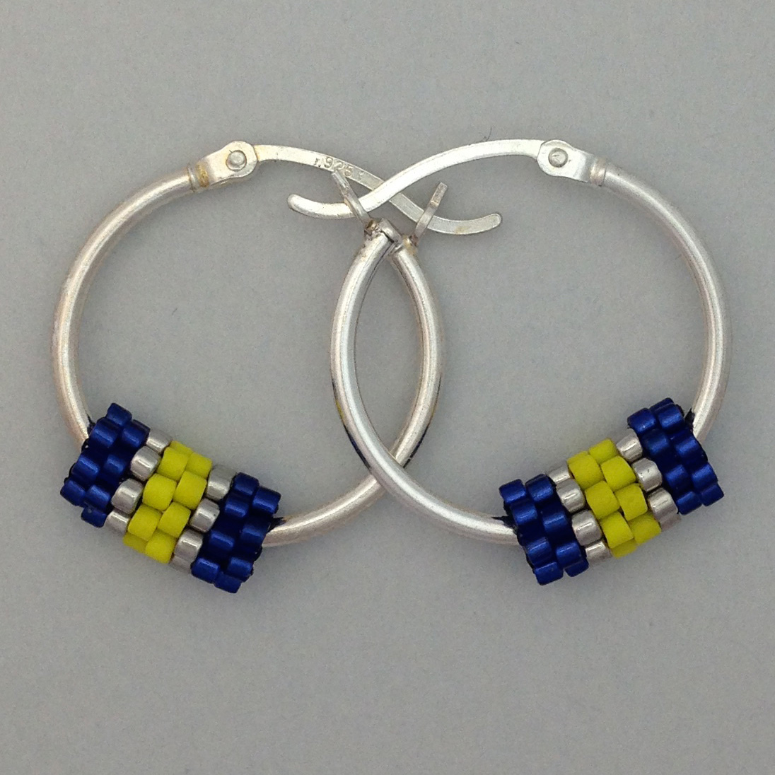 Hoop Blu/Yellow